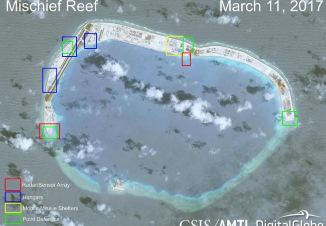 Chuyên gia Mỹ báo động 'pháo đài' Trung Quốc khống chế Biển Đông