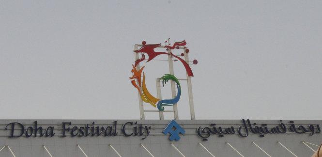 khu trung tam mua sam doha festival city tai doha, qatar - anh: reuters