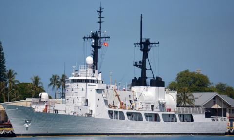 Tin tức tình hình Biển Đông chiều 24-11-2017: Tàu CSB 8020 Mỹ Viện trợ cho Việt Nam đã bắt đầu hành trình rời Mỹ về Việt Nam