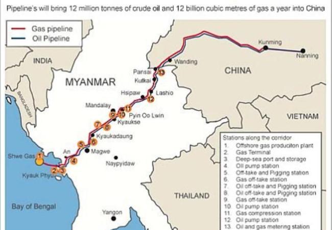 Ấn Độ 'chẹn' đường biển, Trung Quốc sẽ hứng thảm họa