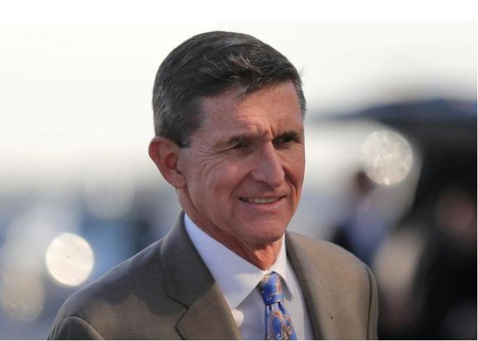 Ông Flynn tại bang Florida (Mỹ) ngày 12-2. Ảnh: REUTERS