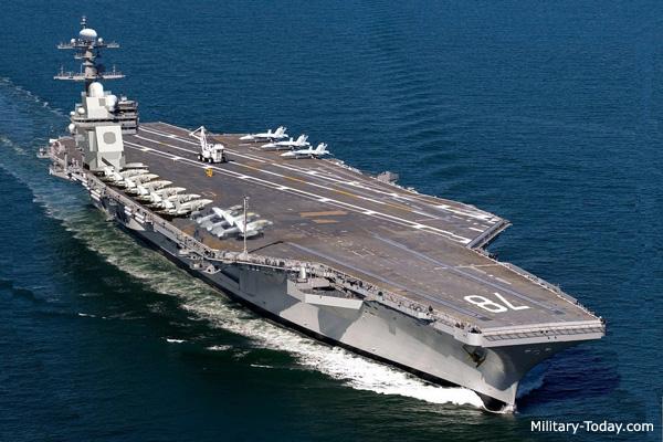 Top 10 tàu sân bay lớn nhất thế giới