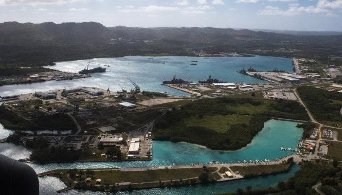 Tin tức tình hình Biển Đông tối 21-08-2017:  Mỹ tăng cường hạ tầng đảo Guam sẵn sàng đáp trả các cuộc tấn công của Triền Tiên