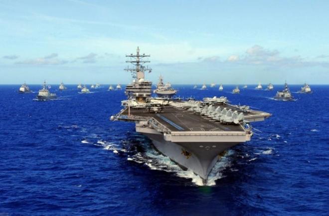 Dàn gần 300 chiến hạm làm nên sức mạnh hải quân Mỹ