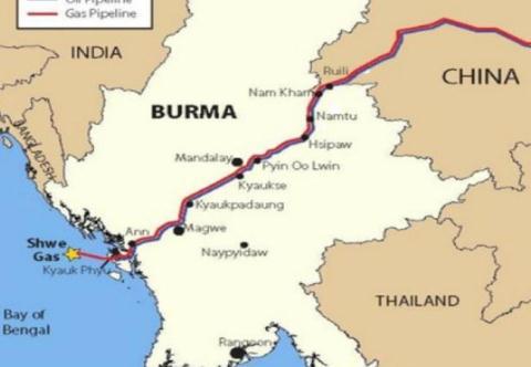 Hải quân Myanmar không cho tàu chở dầu Trung Quốc cập cảng