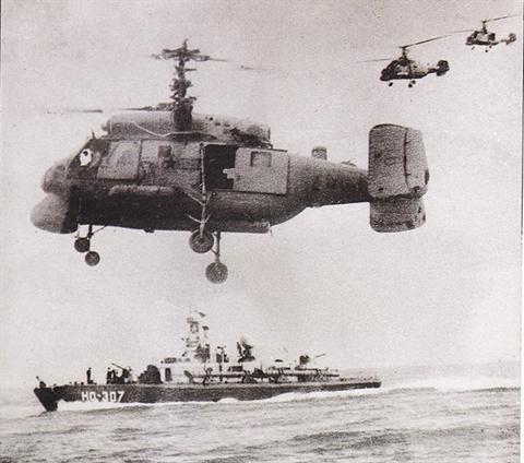 Đội hình tác chiến đặc biệt của Hải quân Việt Nam