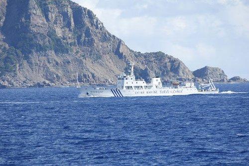 Tàu Trung Quốc lại áp sát vùng tranh chấp với Nhật