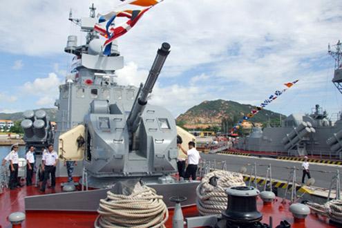 Những tàu hiện đại của Hải quân Việt Nam