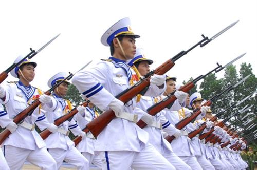Hải quân nhân dân Việt Nam chính qui, tinh nhuệ, hiện đại.