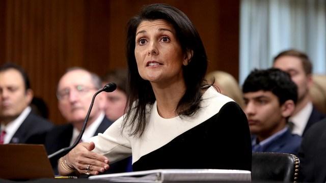 Đại sứ Mỹ tại LHQ Nikki Haley cảnh cáo Mỹ sẽ không để Triều Tiên muốn làm gì thì làm. Ảnh: THE HILL