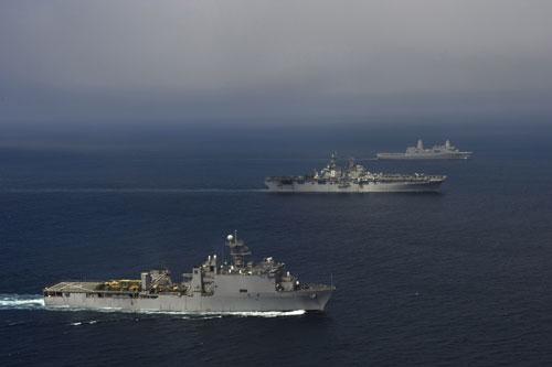 Tranh chấp Hoa Đông và liên minh Mỹ - Nhật