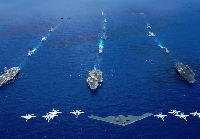 Bố trí của hải quân Mỹ trên toàn thế giới