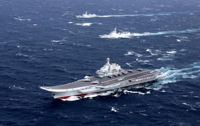 Tin tức tình hình Biển Đông trưa 23-03-2017: Tạp chí hải quân Trung Quốc - Bắc Kinh đã đảm bảo thống trị ở biển Đông