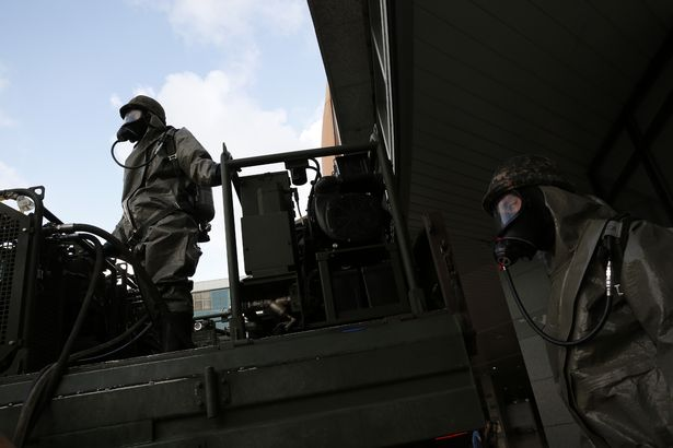 Đặc nhiệm Hàn Quốc diễn tập chống khủng bố, tấn công hạt nhân