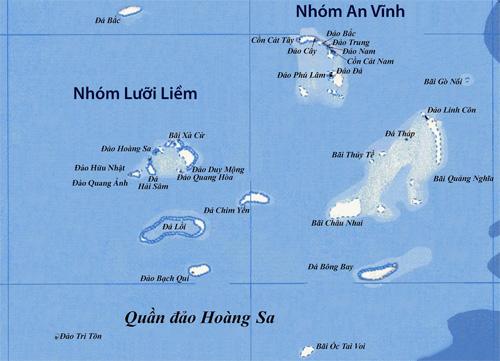 Đại sử ký tranh chấp chủ quyền tại Biển Đông