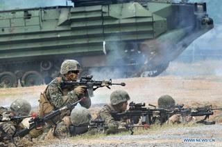 Mỹ tăng cường tập trận với các nước Đông Nam Á