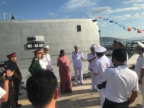 Báo Trung Quốc bình luận hợp tác quốc phòng Việt Nam-Ấn Độ