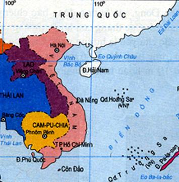 Vài nét địa lý tự nhiên thuộc vùng biển Việt Nam