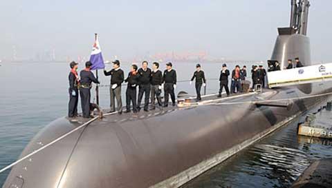 Lực lượng tàu ngầm Hàn Quốc - Đi sau, về trước