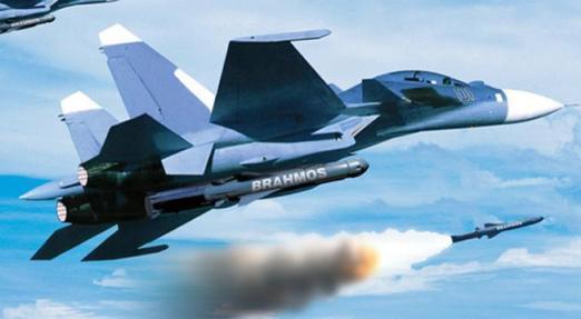 Máy bay đuợc trang bị Brahmos