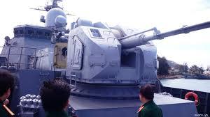 Pháo hạm AK-176 trên tàu Đinh Tiên Hoàng