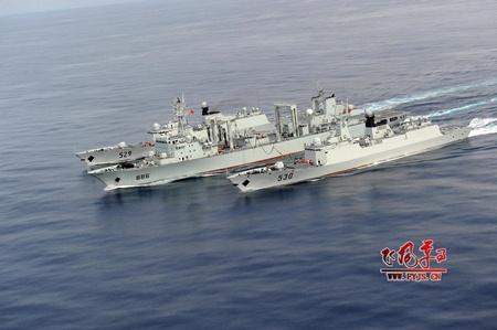 Hải quân Trung Quốc vượt trội về số tàu chiến.