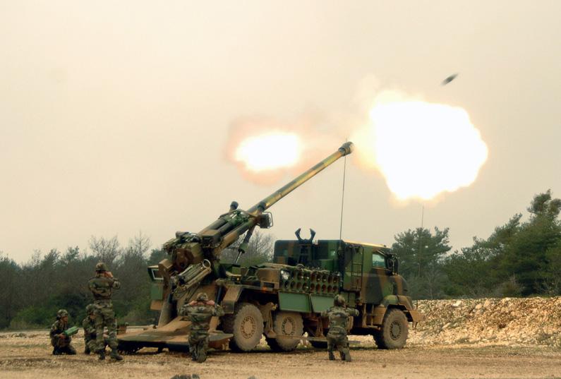 Indonesia sắm 37 pháo tự hành khủng