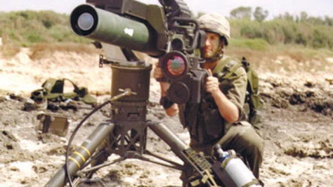 he thong ten lua spike cua israel - anh: haaretz
