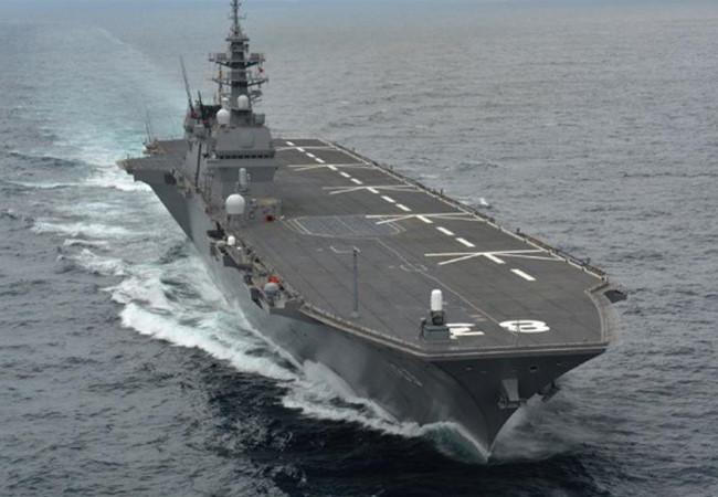 Trung Quốc đối phó thế nào với tàu sân bay Izumo của Nhật ở Biển Đông?