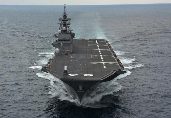 """Tướng Trung Quốc: Tàu sân bay Nhật Bản phải tuân thủ """"9 không"""" ở Biển Đông"""