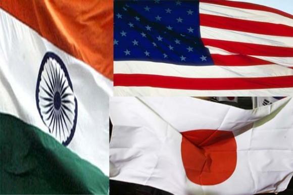 Biển Đông sẽ được bàn ở Đối thoại 3 bên Mỹ - Nhật - Ấn