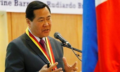 Thẩm phán Philippines kêu gọi kiện Trung Quốc vì lời đe dọa chiến tranh