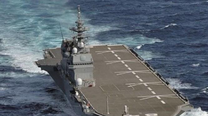Lo chặn Trung Quốc chặn huyết mạch Biển Đông, Nhật 2 năm 2 lần điều tàu sân bay tuần tra