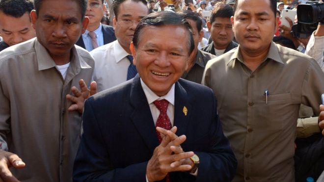 Tin tức tình hình Biển Đông tối 05-09-2017: Cam Pu Chia - Lãnh đạo đối lập Kem Sokha bị bắt và buộc tội làm phản