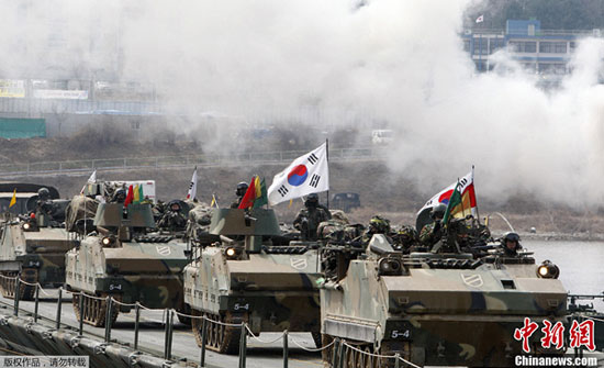 Tình hình căng thẳng trên bán đảo Triều Tiên tối 27-04-2017