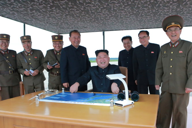 Tình hình căng thẳng trên bán đảo Triều Tiên trưa 31-08-2017: