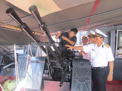 Hải quân Việt Nam: Tin tưởng vào khả năng làm chủ vũ khí, trang bị kỹ thuật
