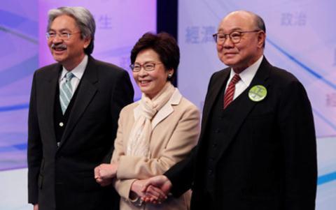 Chân dung Trưởng Đặc khu Hong Kong mới thân Bắc Kinh