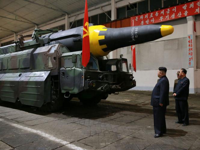 Tình hình căng thẳng trên bán đảo Triều Tiên 19-05-2017