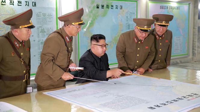 Tình hình căng thẳng trên bán đảo Triều Tiên chiều 17-08-2017: