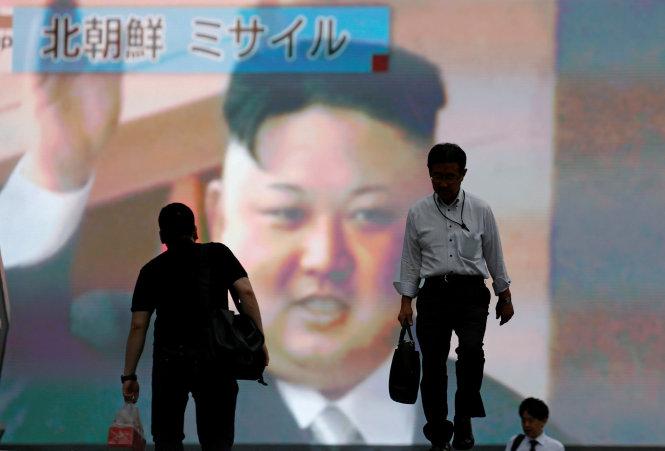 Tình hình căng thẳng trên bán đảo Triều Tiên tối 30-07-2017