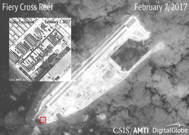 Phớt lờ luật quốc tế, Trung Quốc tiếp tục xây dựng trên đảo nhân tạo