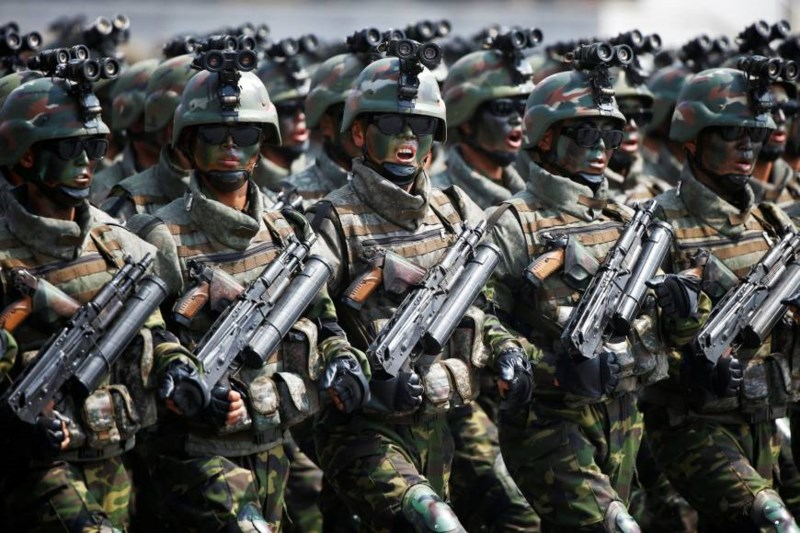 Tình hình căng thẳng trên bán đảo Triều Tiên sáng 11-10-2017: