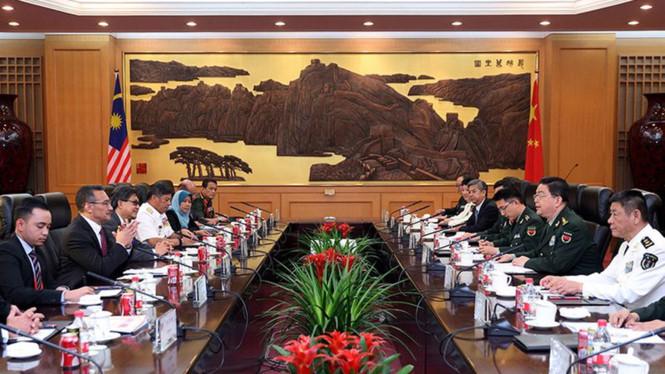 Malaysia, Trung Quốc hợp tác quốc phòng