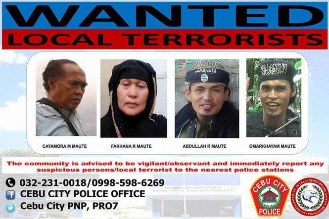 Philippines: Bà trùm khủng bố mang họ Maute