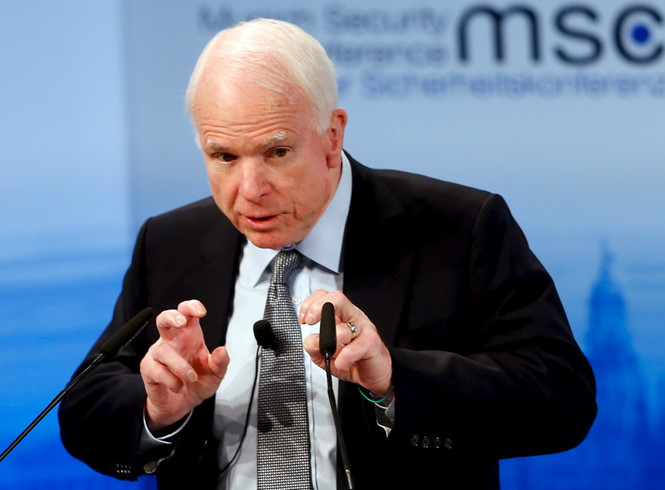 thuong nghi si my john mccain luon ung ho chinh sach cung ran voi trung quoc reuters