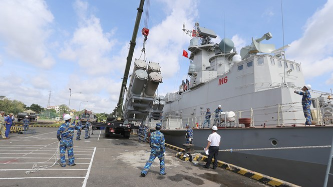 SIPRI: Việt Nam xếp hạng 10 về nhập khẩu vũ khí