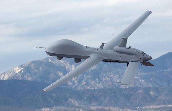 may bay do tham kiem tan cong mq-9m do my san xuat. anh: aviation international news.