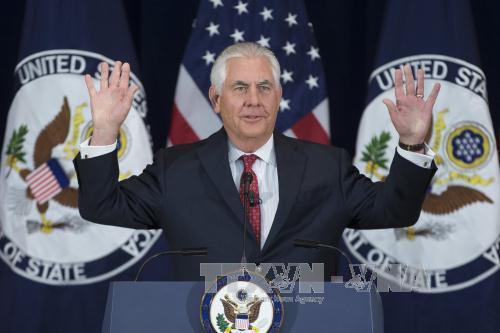Ngoại trưởng Mỹ: Chính sách đối ngoại mạnh phải đi cùng với quân đội mạnh