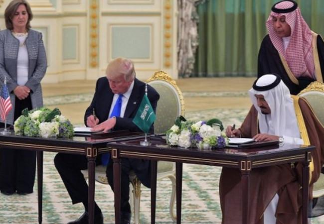 Tin tức tình hình Biển Đông 23-05-2017: Mỹ ký kết hợp đổng cung câp vũ khí khổng lồ gần 500 tỉ đô với Saudi  Arabia